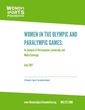 Women in the 2016 Olympic and Paralympic Games: An Analysis of Participation, Leadership and Media Coverage