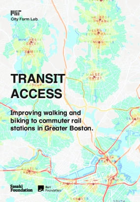 Transit Access: Improving walking and biking to commuter rail stations in Greater Boston